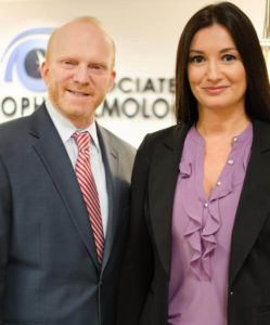 Dr. Miller and Dr. Fejzo at Associates in Ophthalmology